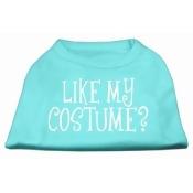 Mirage Pet Products 51-94 XXXLAQ Like my costume Screen Print Shirt Aqua XXXL- 20