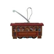 SHAN MM279 Collectible Tin Ornament - Cablecar