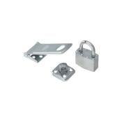 Stanley Hardware Hasp/Padlock Combo 4.5In Stl 399725