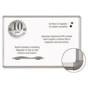 Balt 219PC Mange-Rite Magnetic Dry Erase Board 36 x 48 White Silver Frame