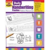 Evan-Moor Educational Publishers 792 Daily Handwriting Practice, Modern Manuscript