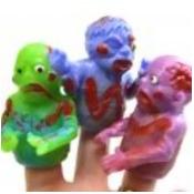 DDI 1932234 Zombie Finger Puppets