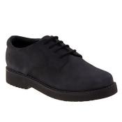 Academie JAMES-CM-C School Shoes, Black Oily - Medium - Size 4.5