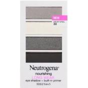 Neutrogena 43736 0.24 oz Nourishing Long Wear Eye Shadow Plus Built-in Primer - Smoky Steel