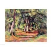 Posterazzi BALXIR169054 Sous-Bois Poster Print by Paul Cezanne - 24 x 18 in.