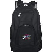 Denco Sports Luggage NBCAL704 19 in. Mojo Cleveleland Cavaliers Premium Laptop Backpack, Black