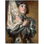 Bentley Global Arts PDX282204LARGE Joan of Arc Poster Print by Robert Alexander Hillingford, 22 x 28 - Large