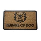Amber Home Goods CF-10800-75 30 x 18 in. Beware of Dogs Floor Mat