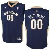 New Orleans Pelicans Pet Jersey Size L