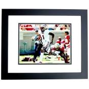 Real Deal Memorabilia KBenjamin8x10-4BF 8 x 10 in. 2013 National Champion FSU Seminoles Kelvin Benjamin Autographed Photo - Black Custom Frame