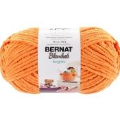 Spinrite 161212-12002 Bernat Blanket Brights Big Ball Yarn - Carrot Orange