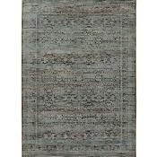 Oriental Weavers Andorra 7127A 3x5 Rectangle - Blue/ Purple-Nylon/PolyP