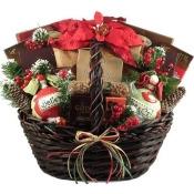 A Homespun Holiday, Christmas Gift Basket