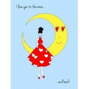 Posterazzi PAIMC004 Love Poster Print by Melissa Corsari - 18 x 24 in.