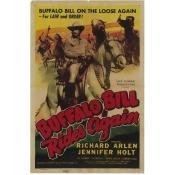 Posterazzi MOVIH1621 Buffalo Bill Rides Again Movie Poster - 27 x 40 in.