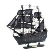 Accent Plus 10018457 Pirate Ship Model - 13 x 3 x 12 in.