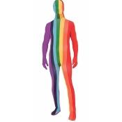 Forum Novelties Costumes 281012 Rainbow Adult Skinsuit