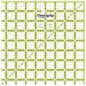 Omnigrip Non-Slip Quilter's Ruler-8-1/2
