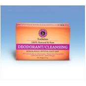 Evolution Salt EDCB-250 9 oz Deodorant/Cleansing Crystal Salt Bar