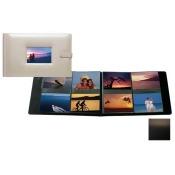 Raika SF 177 BLK 4in. x 6in. Frame Album with 8 Photo - Black