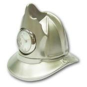 Ruda Overseas 27 Metal Fire Helmet Clock