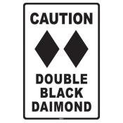 Seaweed Surf Co SN11 Double Black Diamond signs