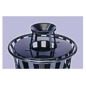 Witt Industries M2401-ATL-BK Ash urn lid only for M2401- black