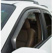 WeatherTech 80275 2001 - 2006 Acura MDX Dark Side Window Deflector Front Pair