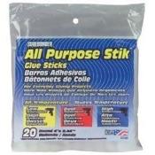 FPC 128663 All Purpose Stik Glue Sticks-7-16 in. x 4 in. 20-Pkg