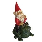 Michael Carr Designs MCD80038 Michael Carr Garrold Gnome On Toad