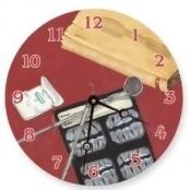 Lexington Studios 23080R Dental Details Round Clock