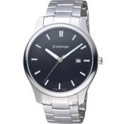 瑞士 WENGER City 城市系列 經典簡約紳士腕錶 01.1441.104