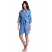 Jockey Solid Blue Robe