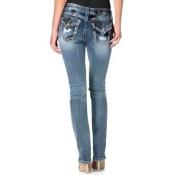 Miss Me Mid-Rise Straight Leg Jeans