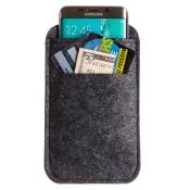 LG Optimus L9 P765 Felt Wool SmartPhone Sleeve, Black