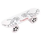 HTC G2 Vanguard SYLVANIA Bluetooth Skateboard Speaker, White