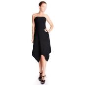 Evanese Women's Inset Glitter Tube Dress
