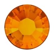 Swarovski Crystal, Round Flatback Rhinestone Hotfix SS20 4.6mm, 50 Pieces, Tangerine