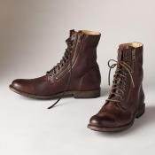 Frye Tyler Double-zip Boots