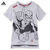 Grey Spiderman Graphic Tee