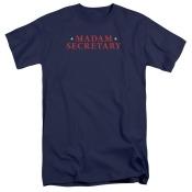Madam Secretary Logo Mens Big and Tall Shirt