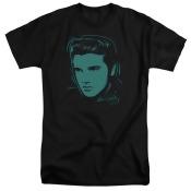 Elvis Young Dots Mens Big and Tall Shirt