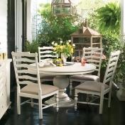 Paula Deen Home Round Pedestal Dining Table