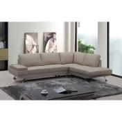 Divani Casa Knight Modern Leather Sectional Sofa