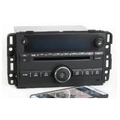 Chevy Impala 2009 Black Radio AM FM CD Aux Input w Bluetooth Music Part 25980720 - Remanufactured