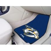 Fanmats NHL - Nashville Predators 2-pc Printed Carpet Car Mats 17