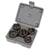 Lisle 13300 5-Piece Filter Socket Set