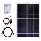 Solar Panel Kit,100W,5.56A,18VDC GRAPE SOLAR GS-100-KIT