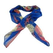 Lightweight Gauze US/UK Flags Pirate Fashion Scarf