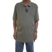 Tasso Elba T-Shirts Med green, Size - 3XL